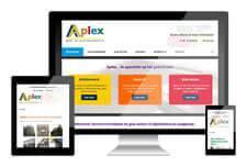 Aplex heeft een responsive website laten maken