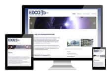 Edco heeft een responsive website laten maken