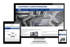 Hantech heeft een responsive website laten maken