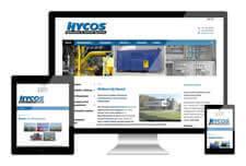 Hycos heeft een responsive website laten maken