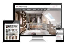 Interwood heeft een responsive website laten maken