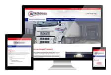 JvD transport heeft een responsive website laten maken