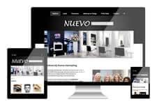 Nuevo Hairstyling heeft een responsive website laten maken
