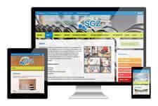 SGZ 7bergen heeft een responsive website laten maken