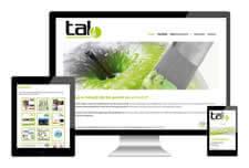Tal GV heeft een responsive website laten maken