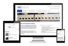 VBE elektro heeft een responsive website laten maken